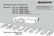 三洋 PLC-XM100投影机 英文使用说明书