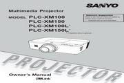 三洋 PLC-XM150投影机 英文使用说明书