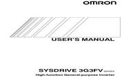欧姆龙(OMRON) 3G3FV-A430K-E变频器 说明书