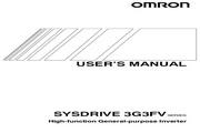 欧姆龙(OMRON) 3G3FV-A416K-E变频器 说明书