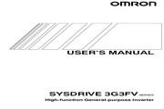 欧姆龙(OMRON) 3G3FV-A4185变频器 说明书