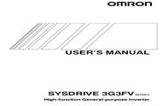 欧姆龙(OMRON) 3G3FV-A4150变频器 说明书