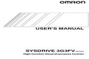 欧姆龙(OMRON) 3G3FV-A4055变频器 说明书