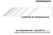 欧姆龙(OMRON) 3G3FV-A4022变频器 说明书