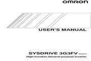 欧姆龙(OMRON) 3G3FV-A2150变频器 说明书