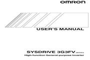 欧姆龙(OMRON) 3G3FV-A2110变频器 说明书