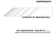 欧姆龙(OMRON) 3G3FV-A2055变频器 说明书