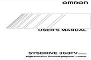 欧姆龙(OMRON) 3G3FV-A2037变频器 说明书