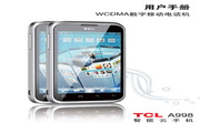 TCL A998手机 说明书