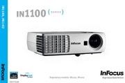 富可视InFocus IN1100投影机 使用说明书