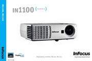 富可视InFocus IN1102投影机 使用说明书<br />