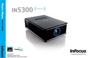 富可视InFocus IN5304投影机 使用说明书