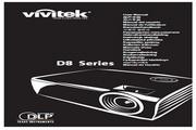 丽讯Vivitek D853W投影机 使用说明书