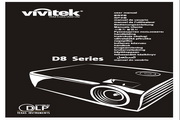 丽讯Vivitek D837投影机 使用说明书