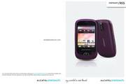 阿尔卡特 Onetouch 905手机 使用说明书