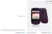 阿尔卡特 Onetouch 907N手机 使用说明书