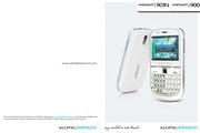 阿尔卡特 Onetouch 901N手机 使用说明书