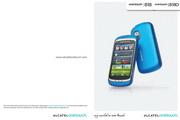 阿尔卡特 Onetouch 828手机 使用说明书
