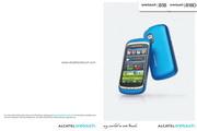 阿尔卡特 Onetouch 818D手机 使用说明书