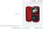 阿尔卡特 Onetouch 803手机 使用说明书
