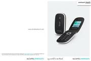 阿尔卡特 Onetouch 665手机 使用说明书