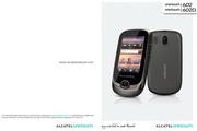 阿尔卡特 Onetouch 602D手机 使用说明书