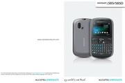 阿尔卡特 Onetouch 585D手机 使用说明书