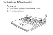 MiTAC 8575A笔记本电脑说明书