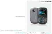 阿尔卡特 Onetouch 585手机 使用说明书