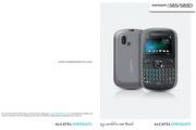 阿尔卡特 Onetouch 583手机 使用说明书