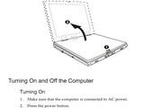 MiTAC 8640(DM)笔记本电脑说明书