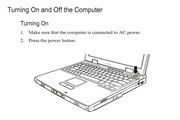 MiTAC 8640(GPS)笔记本电脑说明书