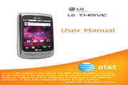 LG Thrive P506手机 说明书