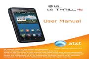 LG Thrill P925手机 说明书