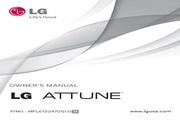 LG Attune UN270手机 说明书