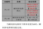 英威腾CHV100-110G-12型中压矢量变频器说明书