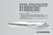卡西欧 XJ-SC210投影机 英文使用说明书