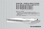 卡西欧 XJ-SC215投影机 英文使用说明书