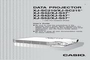 卡西欧 XJ-S32投影机 英文使用说明书