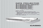 卡西欧 XJ-S42投影机 英文使用说明书