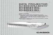 卡西欧 XJ-S47投影机 英文使用说明书