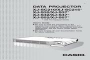卡西欧 XJ-S52投影机 英文使用说明书