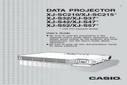 卡西欧 XJ-S57投影机 英文使用说明书