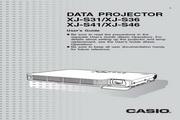 卡西欧 XJ-S46投影机 英文使用说明书<br />