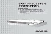 卡西欧 XJ-S41投影机 英文使用说明书
