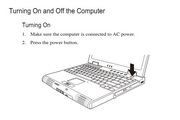MiTAC 8170笔记本电脑说明书