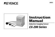 基恩士 EX-201涡电流位移传感器 说明书