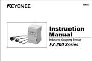 基恩士 EX-110涡电流位移传感器 说明书