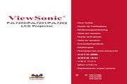 优派 PJL7200投影机 使用说明书