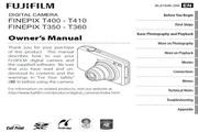 富士FinePix T360数码相机 使用说明书